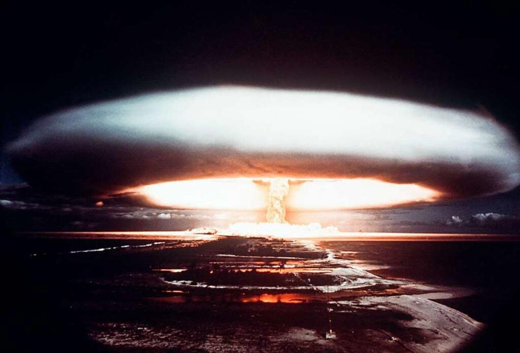 Eine nukleare Explosion kann gigantische Zerstörungen hervorrufen.    Foto: ImageForum
