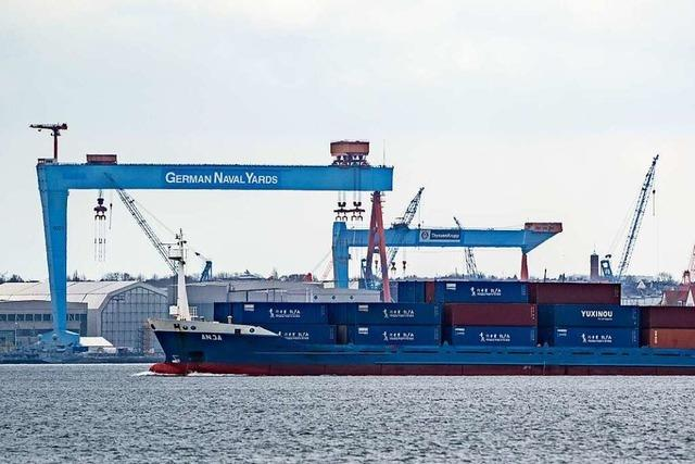 Schub für den deutschen Export - Rekordzuwachs im März