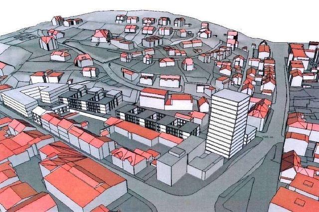 BZ-Umfrage: Was denken Lörracher über das geplante Hochhaus am Engelplatz?