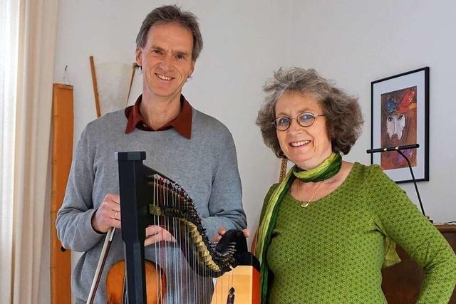 Eva und Thomas Schindelin aus Schopfheim sind musikalische Allrounder