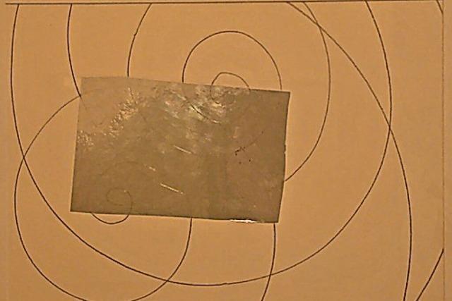 Zeichnerischer Reflex der großen Konjunktion von Jupiter und Saturn