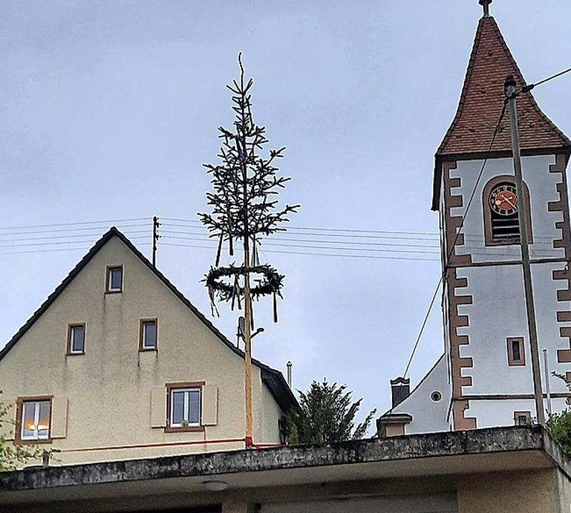 Maibäumchen in Wintersweiler  | Foto: Tamara Braun