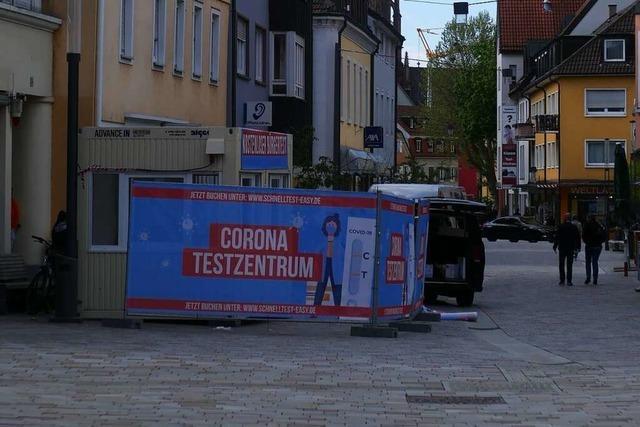 Schnelltests in Offenburg jetzt auch ohne Voranmeldung möglich