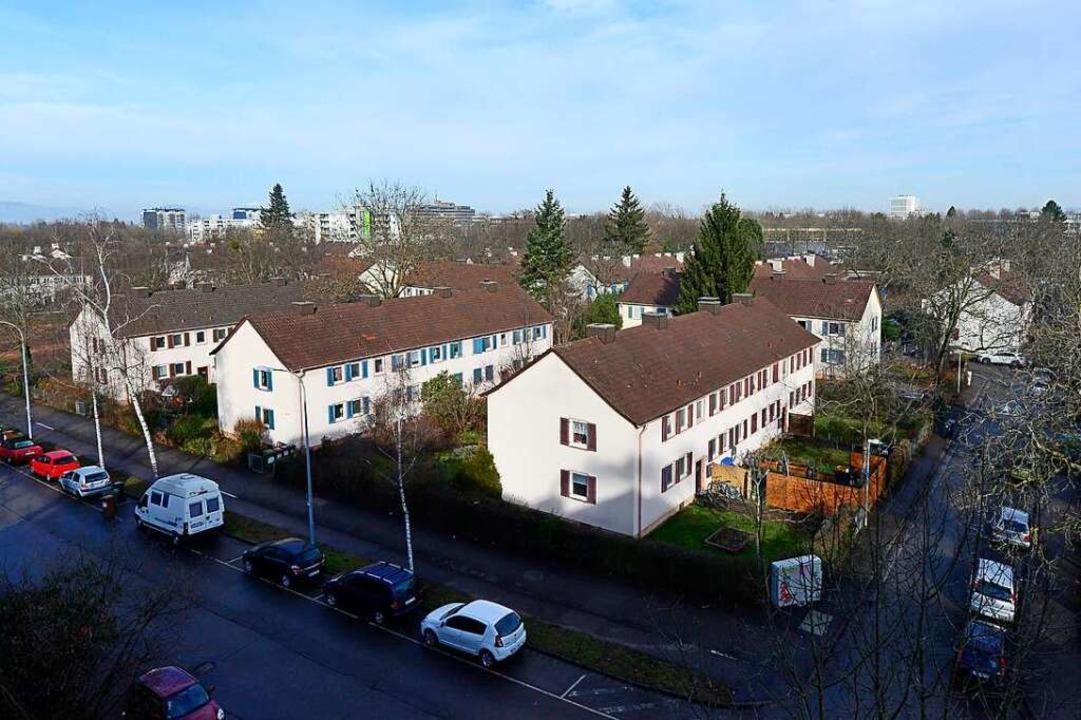 Das Quartier Metzgergrün soll deutlich dichter bebaut werden als bisher.    Foto: Ingo Schneider