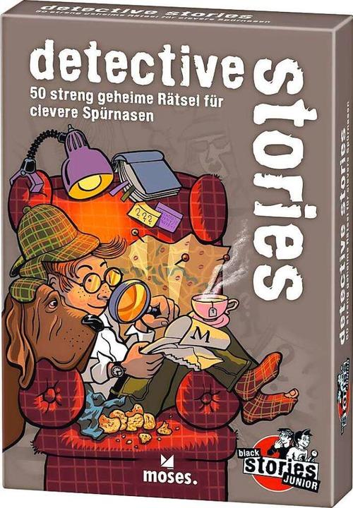 Detective stories – 50 streng geheime Rätsel für clevere Spürnasen  | Foto: Moses Verlag