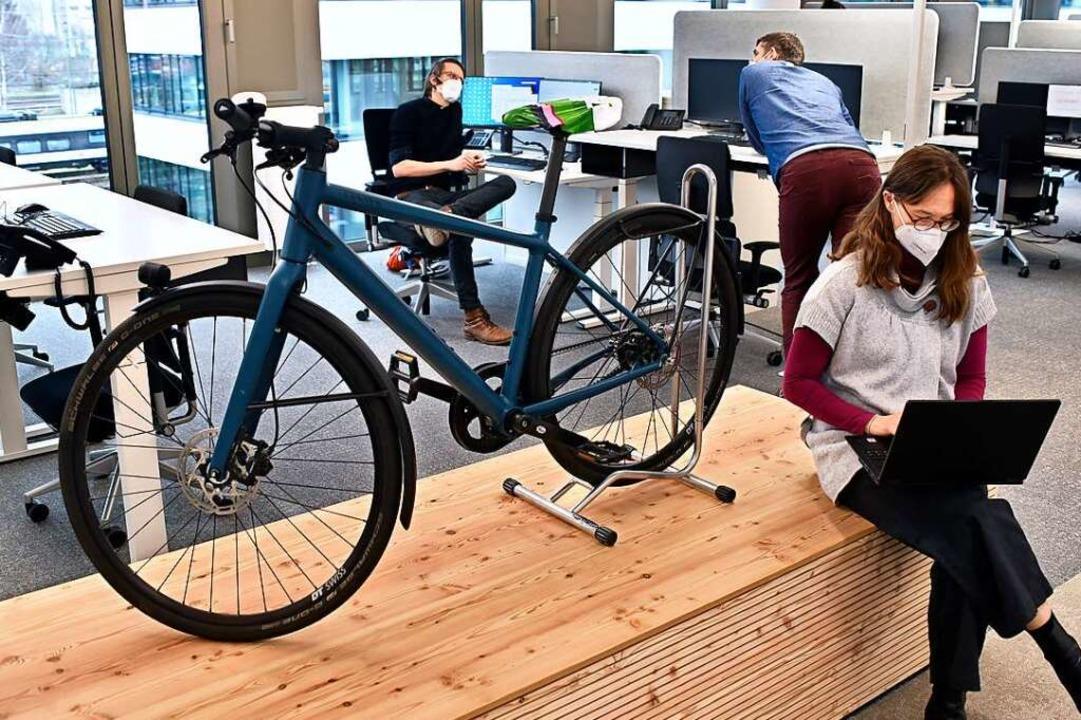 Sieger in der Kategorie neue Stellen für große Firmen: Jobrad aus Freiburg.  | Foto: Thomas Kunz