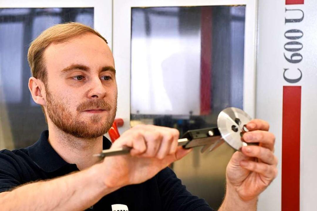 Sieger in der  Kategorie Konzepte gege...se für kleine Firmen: Hin Feinmechanik  | Foto: Thomas Kunz