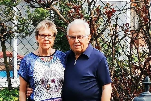 Artur und Gerda Bühn sind ein Paar, das die Musik und den Gesang liebt
