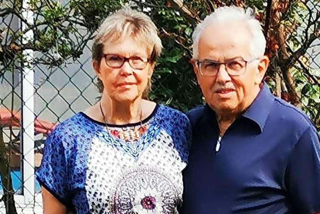 Gerda und Artur Bühn    Foto: Dieter Fink