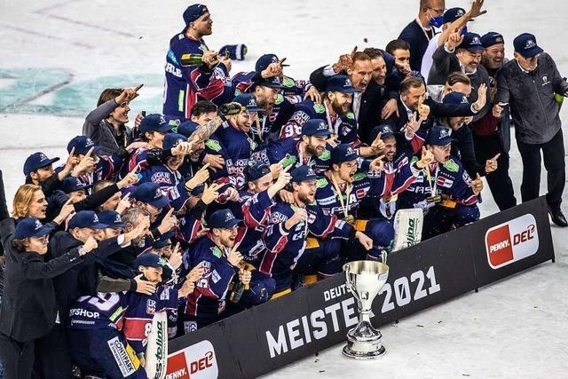 Eisbären Berlin gewinnen deutsche Meisterschaft in der DEL