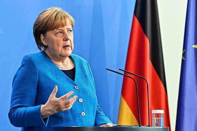 Merkel blickt hoffnungsfroh auf Sommerurlaub – auch für Ungeimpfte