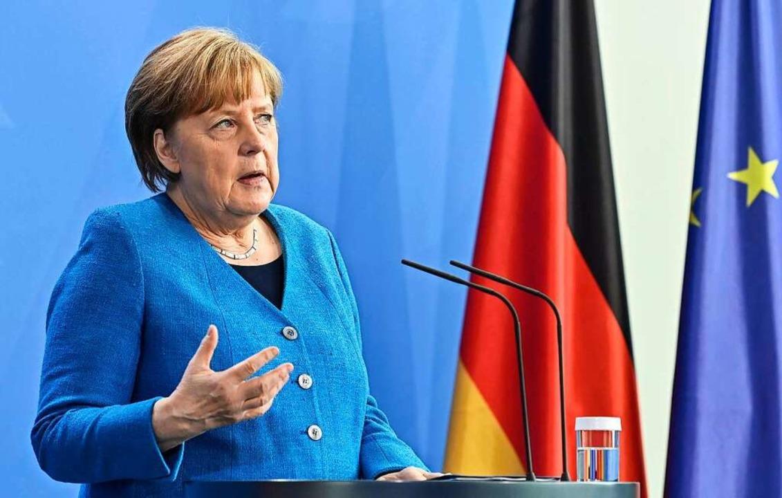 Bundeskanzlerin Angela Merkel    Foto: John Macdougall (dpa)