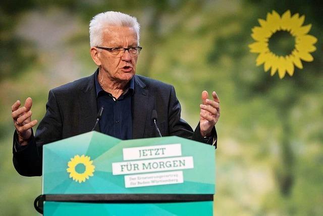 Grüne stimmen Koalitionsvertrag mit der CDU zu