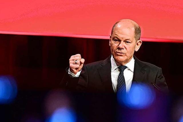 SPD will mit Olaf Scholz endlich den Kampf ums Kanzleramt eröffnen