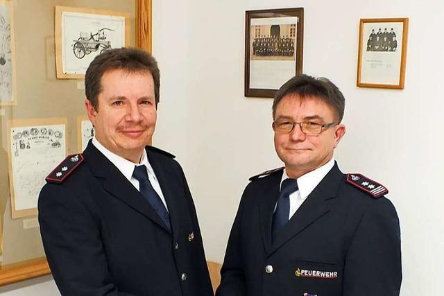 Nach 25 Jahren gibt Hilmar Singler sein Amt als Feuerwehrkommandant ab