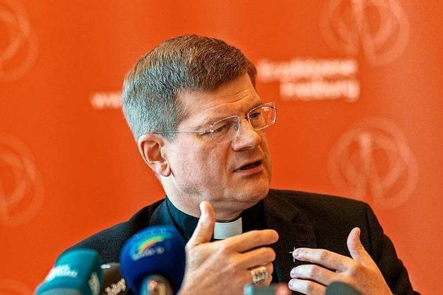 Erzbischof Stephan Burger steht plötzlich in der Kritik