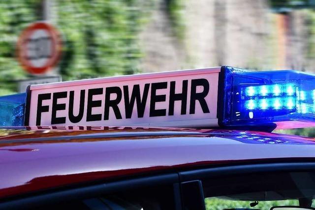 Mehr als 100.000 Euro Schaden bei Scheunenbrand in Offenburg