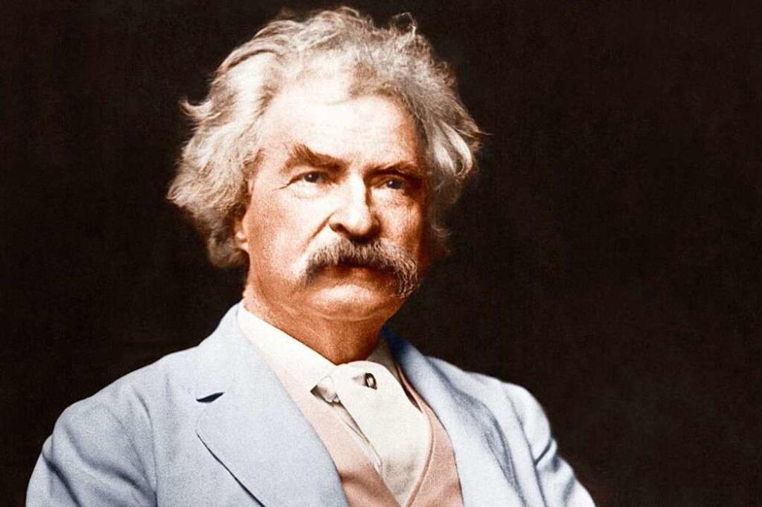 Mark Twain    Foto: akg