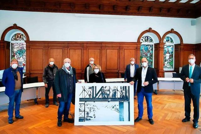 Stadt Waldkirch erwirbt Reproduktionen von Georg Scholz