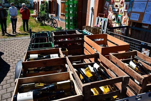 IG Weinbau Herten füllt neun Weinsorten in 22.000 Flaschen ab