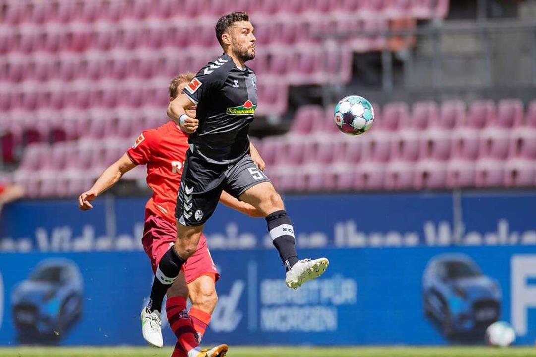 Manuel Gulde musste gegen Köln angeschlagen ausgewechselt werden.    Foto: Rolf Vennenbernd (dpa)