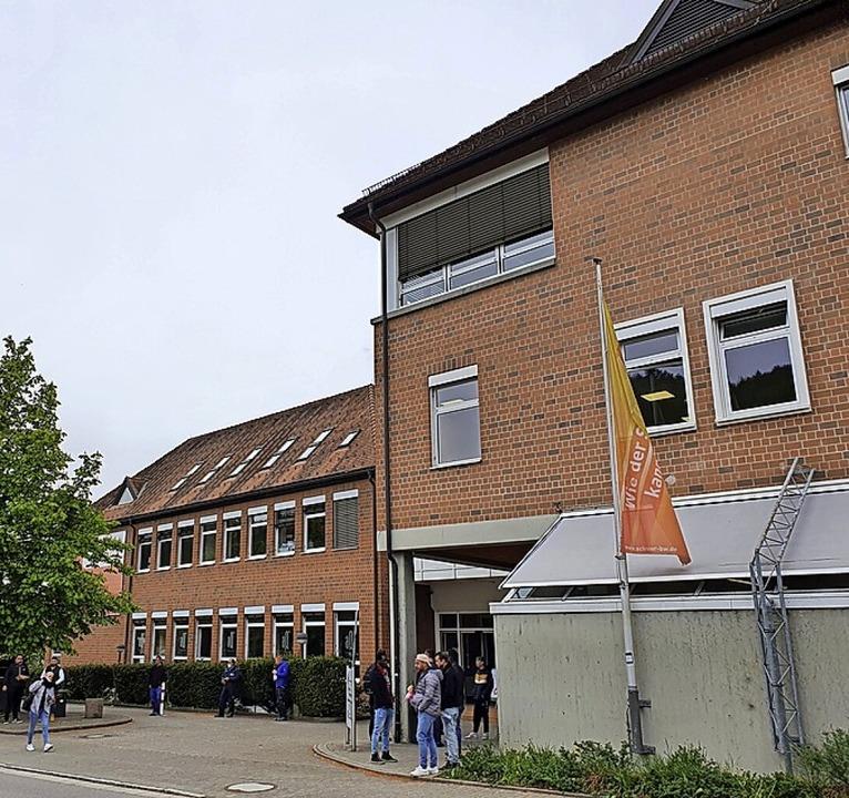 In der Bildungsakademie in Waldshut so...d für ein Studium einschreiben können.  | Foto:  Schlichter, Juliane