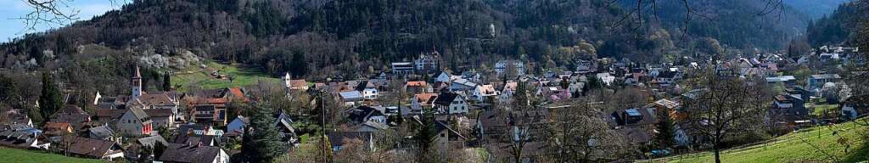 Blick auf Sulzburg: Wasser- und Abwass...in den nächsten Jahren saniert werden.    Foto: Volker Münch