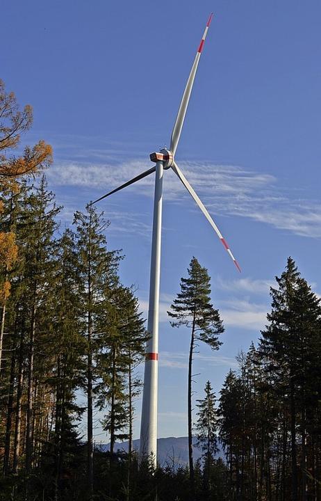 Windenergie soll weiterhin allein  in Konzentrationszonen möglich sein.    Foto: Nikolaus Bayer