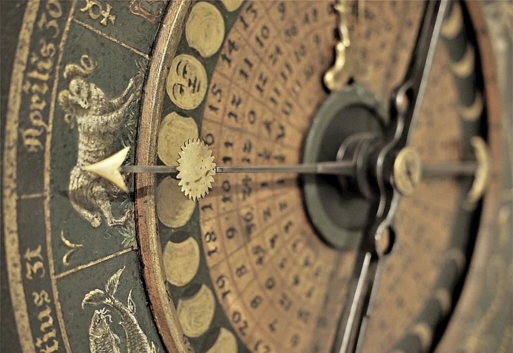 Besondere Uhren sind im Klostermuseum ...etzt am stärksten  vom Leader-Projekt.  | Foto: Susanne Gilg