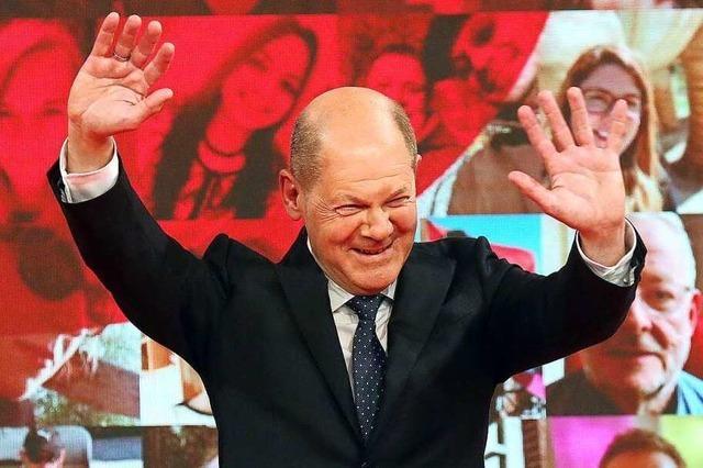 Die SPD kürt ihren Kanzlerkandidaten Olaf Scholz