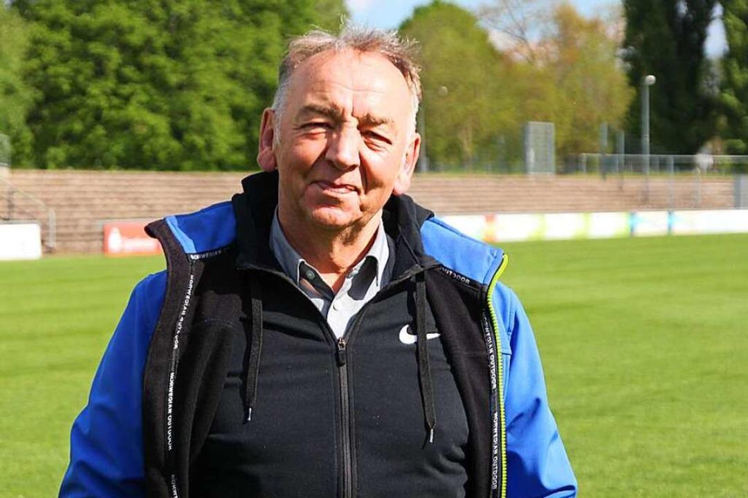 Norbert Großklaus, Präsident des Offenburger Fußballvereins  | Foto: Michael Saurer