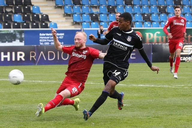 Niederlage des Bahlinger SC beim FSV Frankfurt