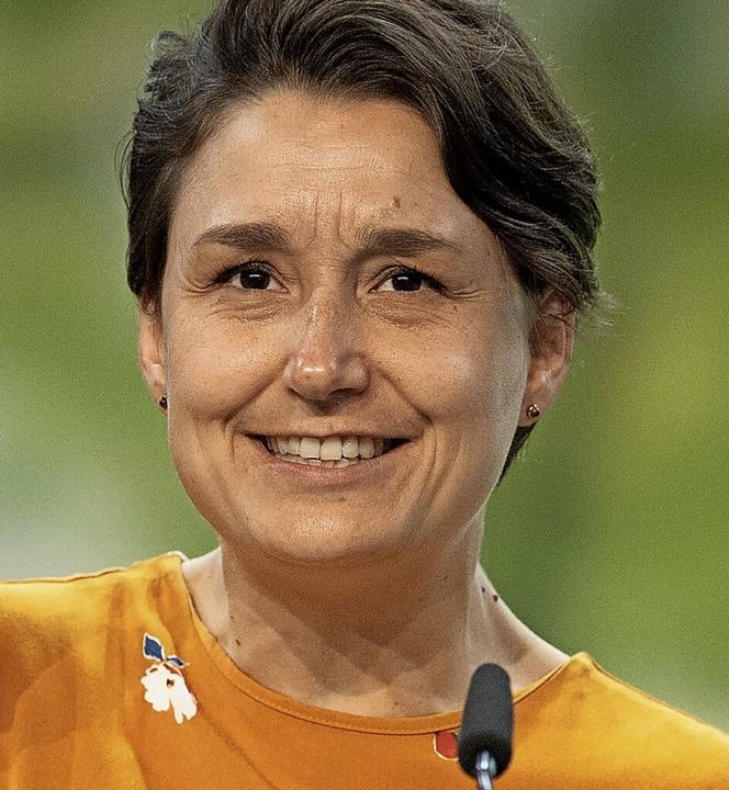Fordert mehr Geld für Klimapolitik: Landesvorsitzende  Sandra Detzer    Foto: Marijan Murat (dpa)