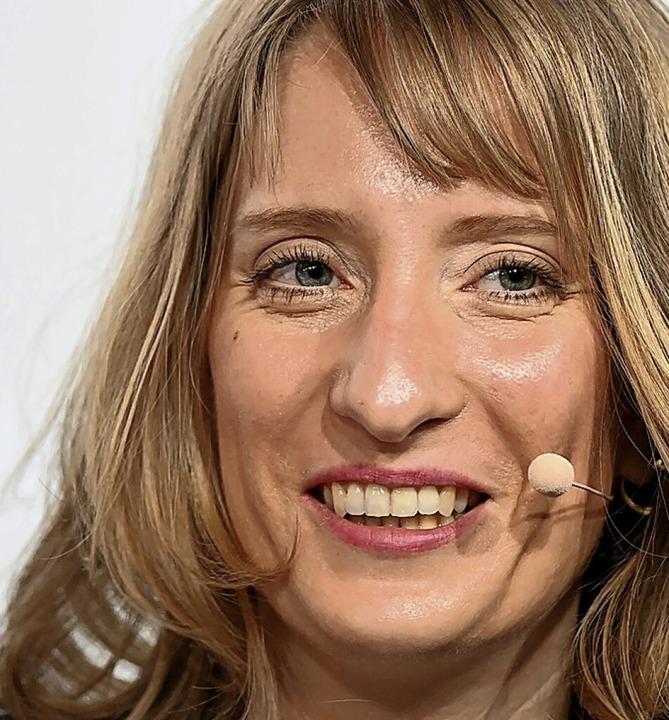 Generalsekretärin Isabell Huber  | Foto: Bernd Weissbrod (dpa)