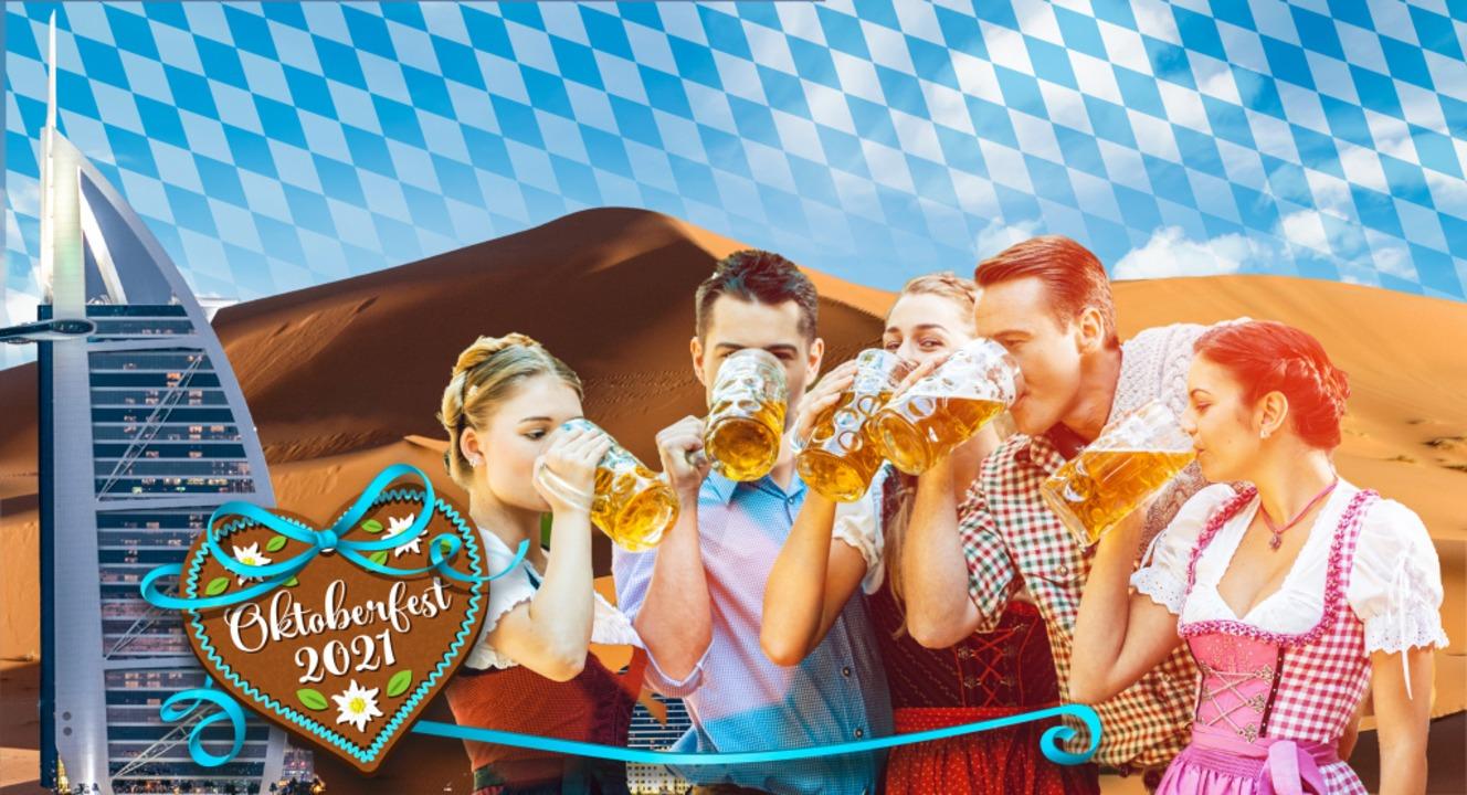 Bayerische Lebensfreude soll während des Oktoberfests in Dubai einkehren.  | Foto: Torbz, pixelliebe, ccellphoto,kzenon, Neiezelmakov (stock.adobe.com)