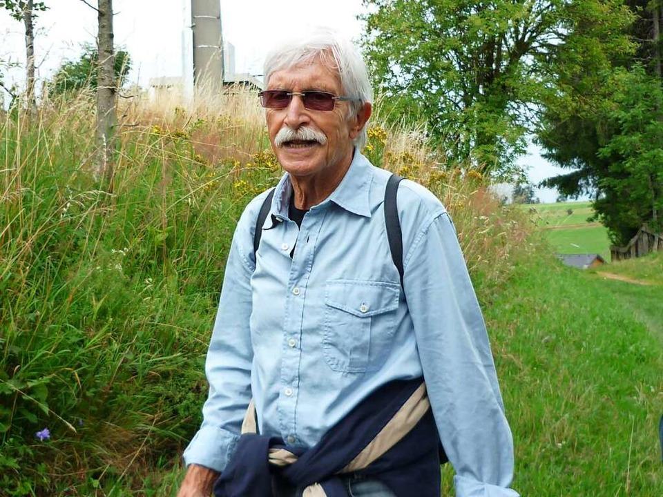 Begeisterte auf zahlreichen Kräuterexk...einem Heilpflanzenwissen: Frank Hiepe.  | Foto: Heinz Scholz