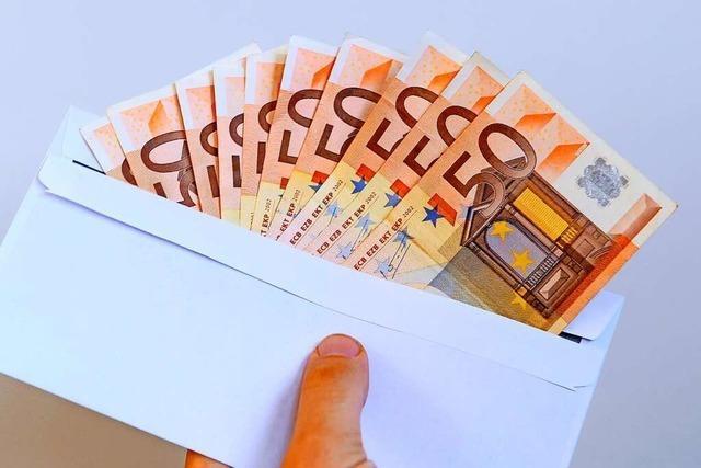 Finderlohn für verlorene Geldmappe am Rührberg ausgeschrieben