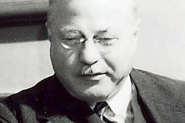 Vor 100 Jahren wurde Joseph Wirth aus Freiburg Reichskanzler