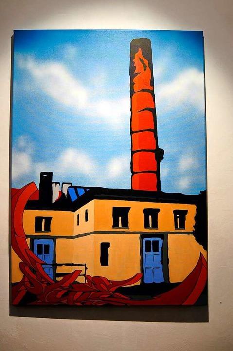 Kesselhaus: Kunstbegeisterte können nu... von Luetzelschwabs Bildern entdecken.  | Foto: Barbara Ruda