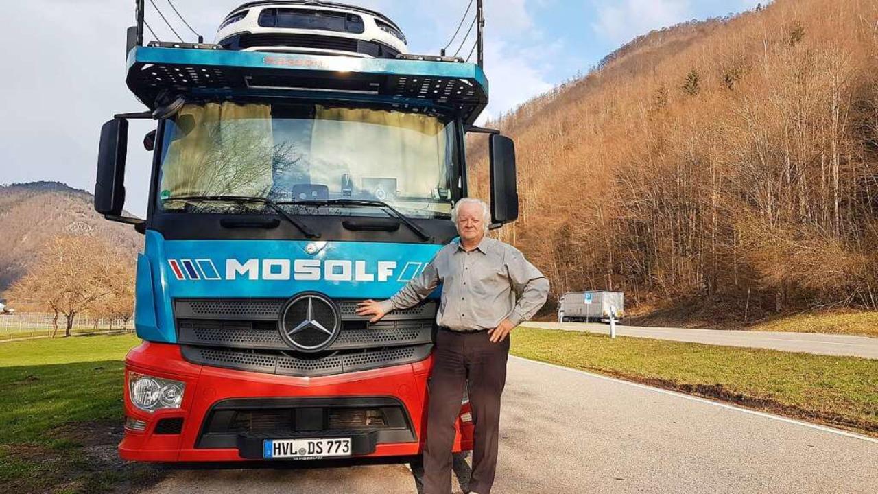 Norbert Grauert, Lkw-Fahrer aus Brande... verbringen. Infrastruktur dort: null.    Foto: Gerald Nill