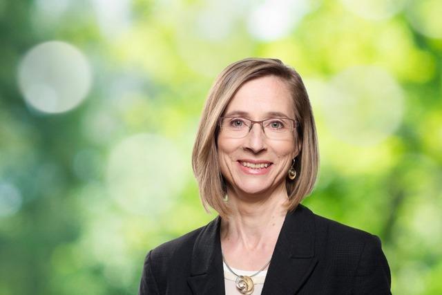 Daniela Bühler und kandidiert für das Amt der Bürgermeisterin