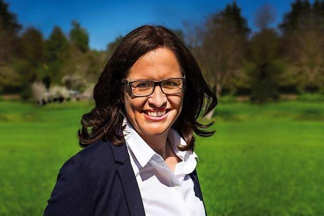 Simone Lenenbach will Bürgermeisterin von Hohberg werden