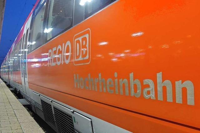 Corona-Pandemie sorgt für leere Züge am Hochrhein