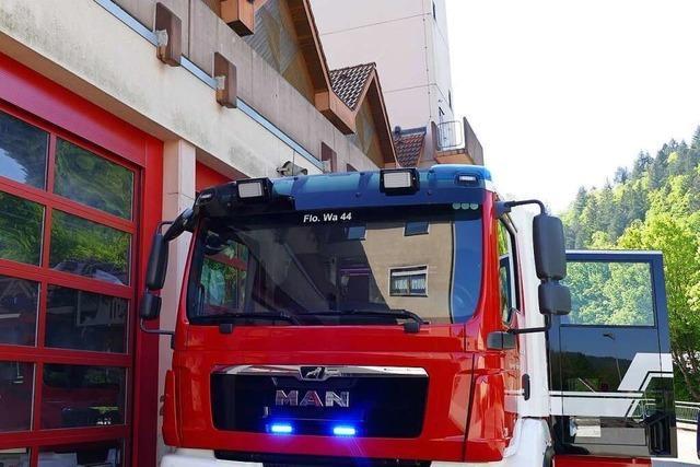 Brand im IT-Bereich von Firma in Waldkirch