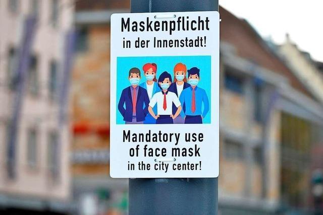 Verwaltungsgericht bestätigt Maskenpflicht in der Freiburger Altstadt
