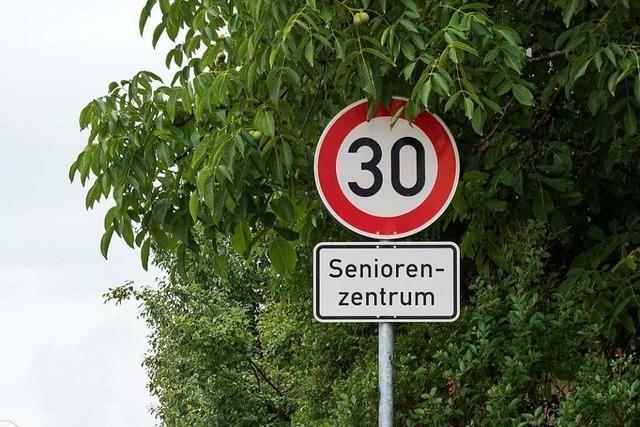Ab Mittwoch gilt Tempo 30 in der Vörstetter Ortsdurchfahrt