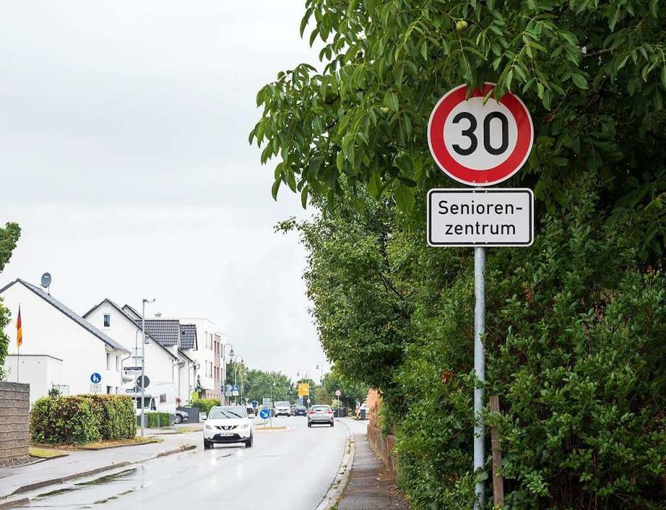 In der Ortsdurchfahrt Vörstetten gilt ...wird der Bereich deutlich ausgeweitet.  | Foto: Helmut Rothermel
