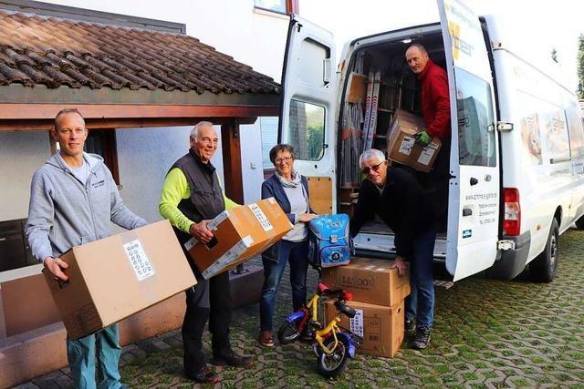 Hilfsaktion aus Hinterzarten für Familien in Lettland und der Ukraine