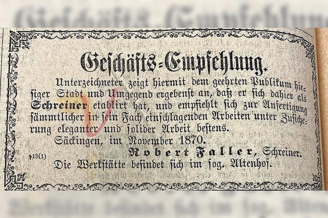 Wo die Freifrau von Schönau wohnte