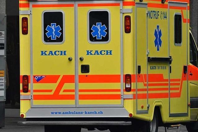 Sechs Verletzte bei Chemieunfall in Pratteln bei CABB